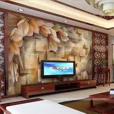 living room modern wallpaper at rs 5000
