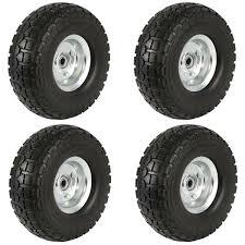 solid rubber tyre wheels garden wagon