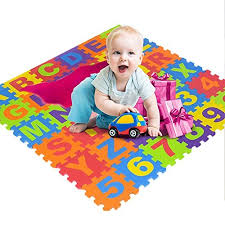 Stillcool Baby Play Mat With Fence 0 39 Inch Thick Interlocking Foam Floor Tiles Kids Puzzle Mat