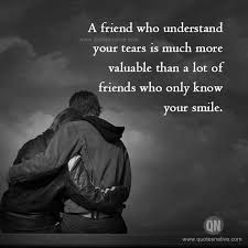 a friend who understand friendship quotes