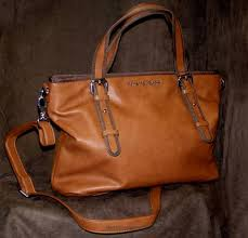 armani jeans tan tote bag
