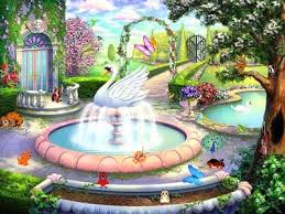 animated wallpapers of nature garden