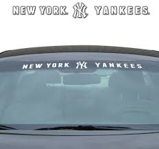New York Yankees Decal 35x4 Windshield Sports Fan Shop