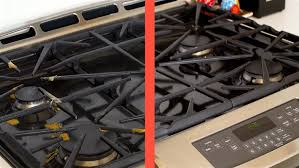 how to clean your stove top