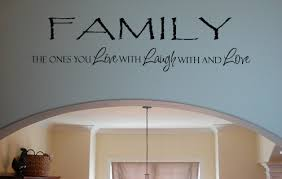 Family Live Laugh Love Wall Decals Trading Phrases