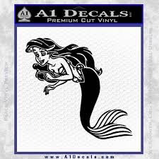 The Little Mermail Ariel Decal Sticker A1 Decals