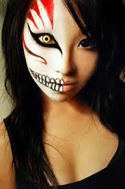 asian half face makeup yahoo