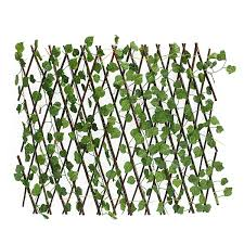 Kingso Expandable Artificial Leaf Faux Ivy Stretchable Privacy Fence Screen Wedding Home Kitchen Garden Decoration Kitchen Dining B076fslg4k