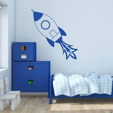 Rocket Ship Wall Decal