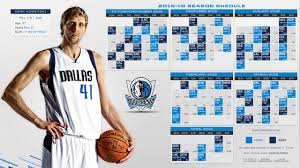 Dallas Mavericks 2015-2016 Schedule ...