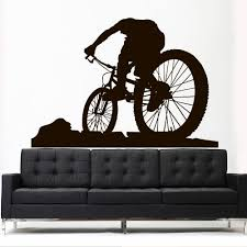 Wall Vinyl Decal Sticker Decal Sport Mountain Cycle Bmx Bike Bicycle Z Stickersforlife