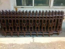 Galvanized Cast Iron Fence Panels Powder Coated Surface Treatment Decorative Metal Fence For Sale Cast Iron Fence Manufacturer From China 108701226