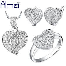 almei african wedding jewellery heart