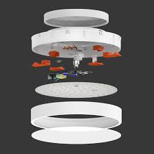 flush mount fixture lamp
