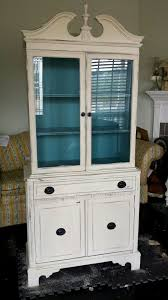 china cabinet with provence interior