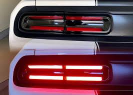 2015 Challenger Racetrack Taillamp Decals Inner