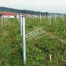 China Solar Ground Screw Manufacture Sic Solar Com