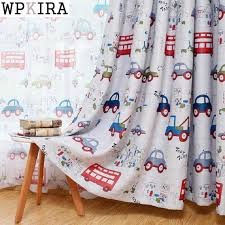 Jealous Cartoon Car Curtains Window Treatments Sheer Curtains For Kids Children Room Living Room Baby Boys Curtains 146 30 Curtains For Sheer Curtainsbaby Boy Curtains Aliexpress