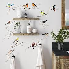 August Grove Erie Living Birds Wall Decal Reviews Wayfair