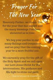 prayers to welcome the new year new years prayer quotes