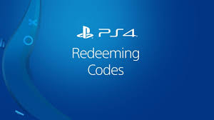 redeeming codes on ps4 you