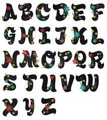 hawaiian alphabet chart collection