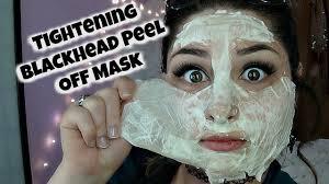 diy tightening blackhead removing