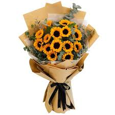 bouquet of sunflower in bangalore