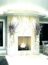 inlling cked stone on brick fireplace