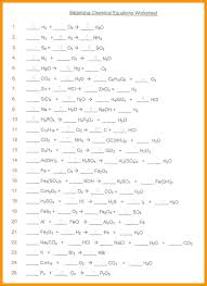chemical equations worksheet part 2