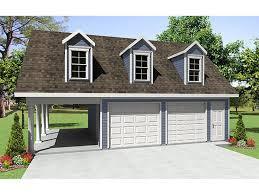 car garage plan with carport 001g 0003