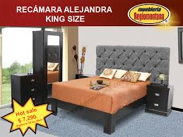Mueblería Regiomontana   Recamara Alejandra King Size $ 7,290