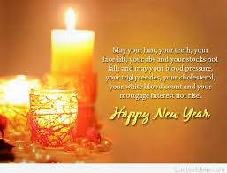 happy new year cute greeting card quote