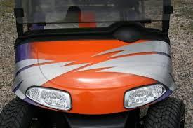 Clemson Tigers Inspired Custom Golf Cart Ezg 062 Metrolina Carts Rock Hill Sc