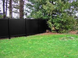 Black Vinyl Fence Black Vinyl Privacy Fence Black Vinyl Fence Panels