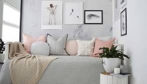 bedroom aesthetic mustard curtains