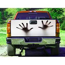 Amazon Com Arms Horror Haunted House Tailgate Wrap Truck Decal Tailgate Sticker Gc2407 Baby