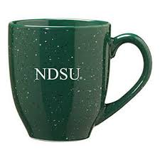 North Dakota State University 16 Ounce Ceramic Coffee Mug Green