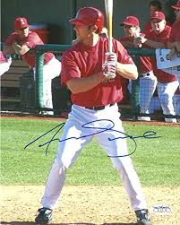 ANDREW ROMINE Signed 8x10 Glossy Photo JSA LA Angels Autographed ...