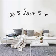 Love Pattern Diy Family House Wall Sticker Removable Mural Decals Vinyl Art Room Decor Wall Stickers Muraux Words Phrases J20 Party Diy Decorations Aliexpress