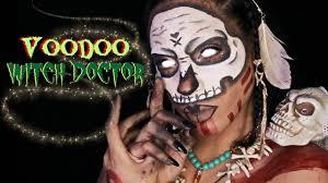 voodoo witch doctor makeup halloween