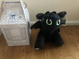 Build a Bear Special Edition How To Train Your Dragon 3 Toothless ...