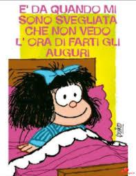 Buon Compleanno da mandare alle amiche con Mafalda - BelleImmagini.it