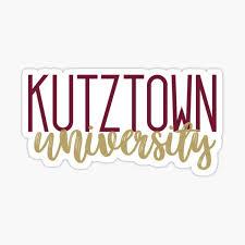 Kutztown University Stickers Redbubble