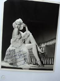 1941 MYRNA DEAN Burlesque Stripper Signed Photo Maurice Seymour Vintage  Chicago | #1855059986