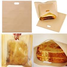 qoo10 5pcs kraft paper bags food tea