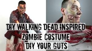diy your guts zombie costume a