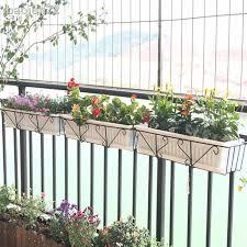 Rectangular Balcony Planting Pot Rack Hanging Succulent Planter Holder Shopee Philippines