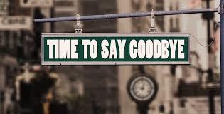 farewell speech say goodbye style