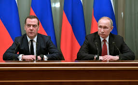Dmitry Medvedev was Putin's political wingman for years. Now Putin wants  some distance. - The Washington Post